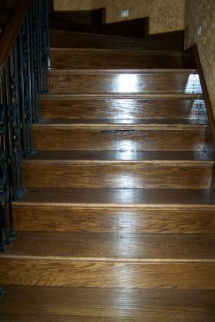 Stair Hardwood Installation