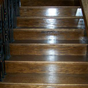 Stair Hardwood Installation