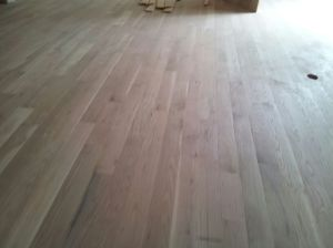 Handscraped Hardwood Installation