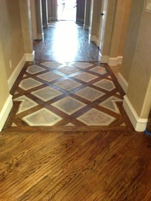 Hardwood Lattice Pattern